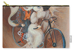 Carry-all Pouch featuring the painting Tandem by Marina Gnetetsky