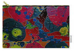 Carry-all Pouch featuring the painting Tangent by Jacqueline McReynolds