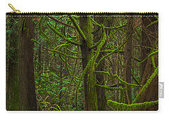 Carry-all Pouch featuring the photograph Tangled Forest by Jacqui Boonstra