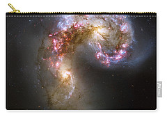 Tangled Galaxies Carry-all Pouch by Adam Romanowicz