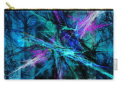 Carry-all Pouch featuring the photograph Tangled Web by Sylvia Thornton