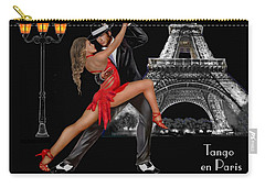 Tango En Paris Carry-all Pouch by Glenn Holbrook