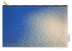 Carry-all Pouch featuring the photograph Tao Of Snow by Mark Greenberg