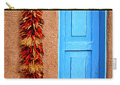 Taos Blue Door Carry-all Pouch