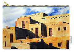Taos Pueblo Carry-all Pouch