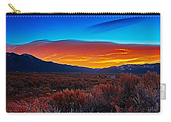 Taos Sunrise X Carry-all Pouch