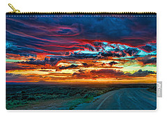 Taos Sunset Iv Carry-all Pouch
