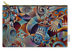 Tapestry Of Gods - Tlaloc Carry-all Pouch