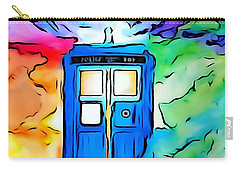 Tardis Illustration Edition Carry-all Pouch