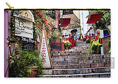 Taormina Steps Sicily Carry-all Pouch