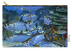 Tarpon Alley In0019 Carry-all Pouch by Carey Chen