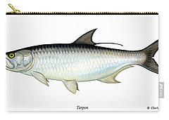 Tarpon Carry-all Pouch by Charles Harden