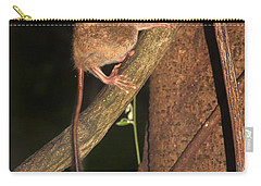 Carry-all Pouch featuring the photograph Tarsius Tarsier  by Sergey Lukashin