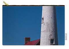 Carry-all Pouch featuring the photograph Tawas Point Lighthouse by Patrick Shupert