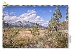 Carry-all Pouch featuring the photograph Taylor Creek Panorama by Jim Thompson