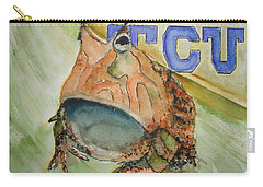 Texas Christian University Paintings Carry-All Pouches