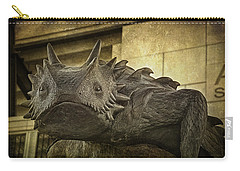 Tcu Horned Frog Carry-all Pouch by Joan Carroll