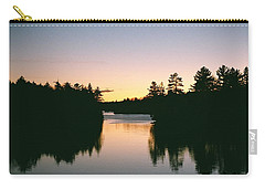 Tea Lake Sunset Carry-all Pouch
