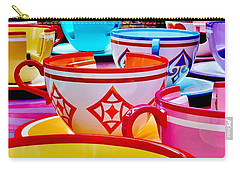 Carry-all Pouch featuring the photograph Tea Party by Benjamin Yeager