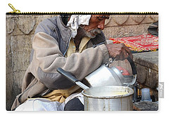 Tea Stall On The Ghats  - Varanasi India Carry-all Pouch