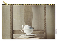 Carry-all Pouch featuring the photograph Tea Tales by Amy Weiss