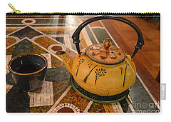 Carry-all Pouch featuring the photograph Tea Time In Asia by Robert Meanor