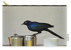 Tea Time In Kenya Carry-all Pouch by Tony Beck