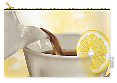 Tea Time Carry-all Pouch by Veronica Minozzi