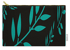 Teal Treasure Carry-all Pouch