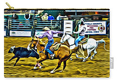 Team Ropers Carry-all Pouch by Alice Gipson