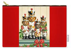 Teddy Bear Band Carry-all Pouch