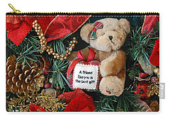 Teddy Bear Friends Carry-all Pouch by Kenny Francis