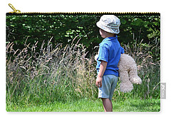 Carry-all Pouch featuring the photograph Teddy Bear Walk by Keith Armstrong
