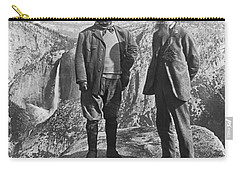 Teddy Roosevelt And John Muir Carry-all Pouch