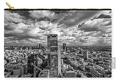 Carry-all Pouch featuring the photograph Tel Aviv High And Above by Ron Shoshani