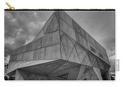 Carry-all Pouch featuring the photograph Tel Aviv Museum  by Ron Shoshani