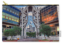 Carry-all Pouch featuring the photograph Tel Aviv Performing Arts Center by Ronsho