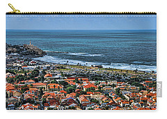 Carry-all Pouch featuring the photograph Tel Aviv Spring Time by Ron Shoshani