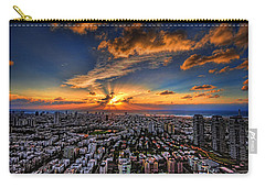 Tel Aviv Sunset Time Carry-all Pouch