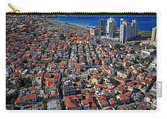 Carry-all Pouch featuring the photograph Tel Aviv - The First Neighboorhoods by Ron Shoshani