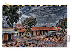 Carry-all Pouch featuring the photograph Tel Aviv To Jerusalem by Ron Shoshani
