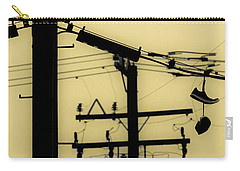 Telephone Pole And Sneakers 5 Carry-all Pouch