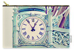 Telling Time Carry-all Pouch by Melanie Alexandra Price