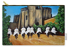Templar Knights And The Convent Of Christ Carry-all Pouch