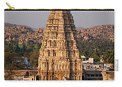 Temple At Hampi Carry-all Pouch