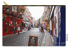 Carry-all Pouch featuring the photograph Temple Bar by Mary Carol Story