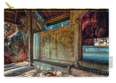 Temple Cave Carry-all Pouch by Adrian Evans