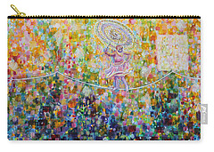 Temple Dance-tightrope  Carry-all Pouch