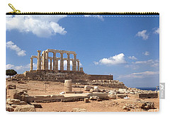 Temple Of Poseidon Carry-all Pouch