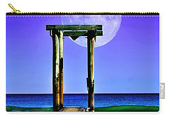 Temple Of The Atlantic Carry-all Pouch by Kathy Baccari